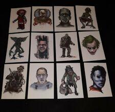 Horror Tattoo Lot Terror Tattoos Leatherface Jason Voorhees Horror