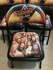 WWE WWF SUMMERSLAM WRESTLING 2018 PPV EVENT CHAIR COMMEMORATIVE BRAND NEW Rare