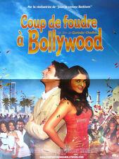 Affiche 40x60cm COUP DE FOUDRE À BOLLYWOOD /BRIDE AND PREJUDICE 2004 TBE