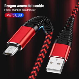 USB Ladekabel Micro-B Samsung Galaxy S7Edge/S6/S5/S4 Huawei HTC 1M 2M Datenkabel