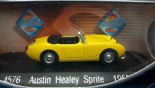 VOITURE  miniature 1/43e   AUSTIN  HEALEY  SPRITE   1958    Solido