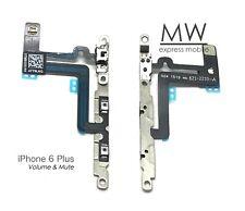 Volume Control Mute Switch Button Flex Cable w/Bracket Apple iPhone 6 Plus 5.5