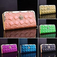 Women Fashion Long Wallet Purse Card Phone Holder Clutch Zipper Handbag Case