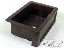 Ariellina Farmhouse 14 Gauge Copper Kitchen Sink Lifetime Warranty New AC1809