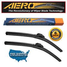 """AERO Saab 9-3 2011-2009 24""""+22"""" Premium Beam Wiper Blades (Set of 2)"""