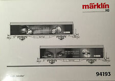 HO Marklin Special Wagon 2-pack Makrolon, Bayer.  New in box, rare