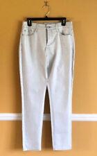 NYDJ Size 8 Womens Legging Ankle Metallic  Jeans Pants Stretch