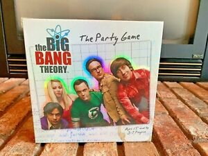 The Big Bang Theory Party Game New Sealed