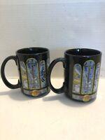 Rare 2 Hard Rock Cafe San Juan Coffee Mugs