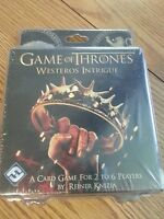 Game of thrones westeros intrigue card game brand new got white walkers stark