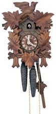 German Cuckoo Clock 1-day-movement Carved-Style 23cm by Anton Schneider