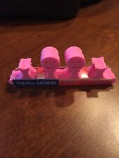 La Cross Pink Smiley Face Toe Spacers by Sally Hansen