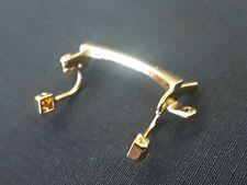Original Cartier wood bridge gold color Eyeglasses sunglasses new