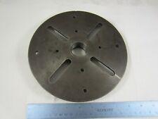 "Original Atlas Craftsman 8 1/2"" Diameter Lathe Face Plate 1 1/2"" x 8 TPI L5-365"