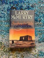 Anything for Billy Larry McMurtry Signed HC First Edition Book