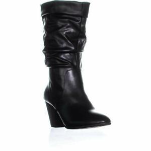 ESPRIT Womens Oliana Closed Toe Mid-Calf Fashion Boots, Black, Size 8.0 I9cR
