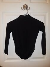 Black Youth Small Cheer Bodysuit