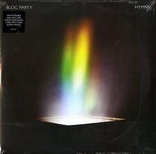 BLOC PARTY HYMNS DOPPIO VINILE LP BIANCO NUOVO SIGILLATO !!