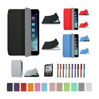 Ultra Slim Magnetic Stand Smart Cover and Back Case for Apple iPad 5 / iPad Air