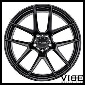 """19"""" ACE AFF02 FLOW FORM BLACK CONCAVE WHEELS RIMS FITS FORD MUSTANG GT"""