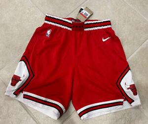 Chicago Bulls Nike 2022 Mens Large 38 Icon Basketball Red Road Shorts AJ5593-657
