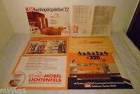alter Katalog Prospekt Möbel Möbekatalog Schlafzimmer 3k wohnperspektive 72 1972