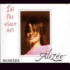 ☆ MAXI CD ALIZEE J'ai pas vingt ans remixes ☆ RARE ☆