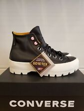 NEW CONVERSE CHUCK TAYLOR ALL STAR LUGGED HI WINTER LEATHER SHOES FOR WOMEN