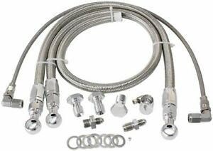 Aeroflow AF30-1003 RB20 25 Turbo / Water Line & Oil Feed Kit fits Nissan Skyl...