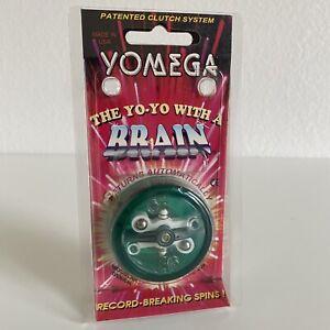 Vintage YOMEGA Yo-Yo With A Brain High Performance NEW IN PACAKGE Green