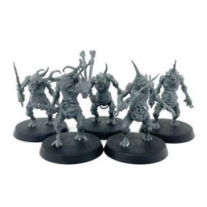 Plaguebearers Of Nurgle Pack Chaos Daemons Age Of Sigmar Warhammer 40k