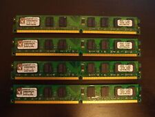 Kingston 4GB DDR2 PC2-6400 KVR800D2N6K2/4G (2x2GB) Kit PC/Desktop CL6 1.8V