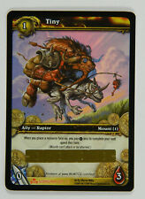 2009 World of Warcraft Wow Tcg Tiny Loot Card Unscratched