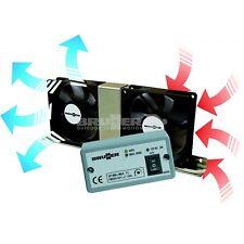 7164010N Kit Ventoline raffreddamento frigo 12 volt con termostato caper RNR