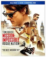 Mission: Impossible - Rogue Nation (Blu-ray/DVD, 2015, 2-Disc Set + Digital) NEW