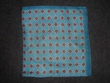 J. Crew FOULARD Italian Linen Pocket Square/Handkerchief