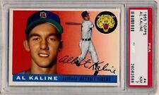 1955 Topps #4 AL KALINE (HOF) Tigers NM PSA 7