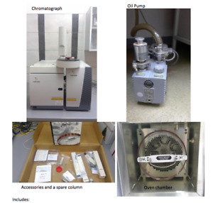 Varian 431-GC Gas Chromatograph + 220-MS IT Mass Spectrometer CP-8410 Autosample