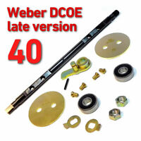 Throttle Spindle Shaft late WEBER 40 DCOE complete set repair kit