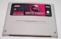 Mortal Kombat Super Nintendo SNES PAL