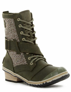 New Sorel Slimboot lace nori Boot 8 $150.00