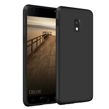 SDTEK Matte Case for Samsung Galaxy J3 2017 (Black) Soft Cover