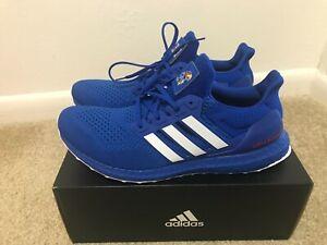 Size 11 - Adidas UltraBoost 1.0 NCAA Pack - Kansas 2020