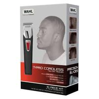 Wahl T-Pro Rechargeable Trimmer Mens Afro Hair T-Blade Shape Up Clipper UK STOCK