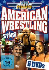 DVD American Wrestling Stars   5DVDs