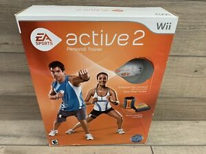 Nintendo Wii - EA Active 2: Personal Trainer Software, Heart Rate & Leg Monitor