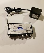 VAC 16-114-404 REV B 1x4 ProSeries Unbalanced Stereo Audio DA With Power Supply
