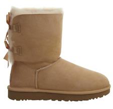 UGG Women Bailey Bow II Winter Boot - Soft Ochre