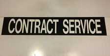 "East London Docklands Bus Blind 36""- Contract Service"