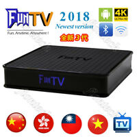2019 Newest 3rd Gen of FUNTV TV Box Chinese HK Taiwan Vietnam  live tv and VOD